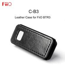FIIO C B3 Funda de cuero para FiiO BTR3, funda con adaptador Bluetooth