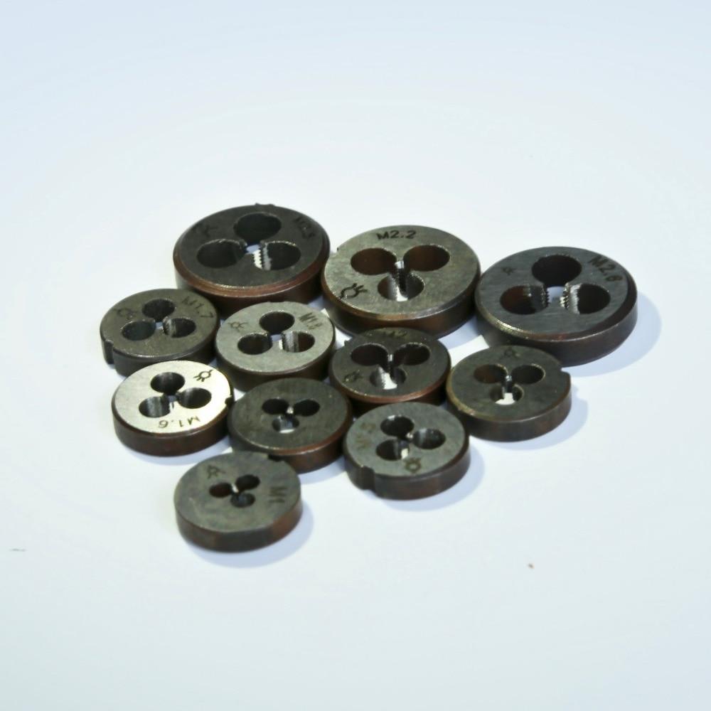 11PCS / komplekt Mini 9Sicr valmistatud käsitsi sureb M1-M2.6 - Käsitööriistad - Foto 2