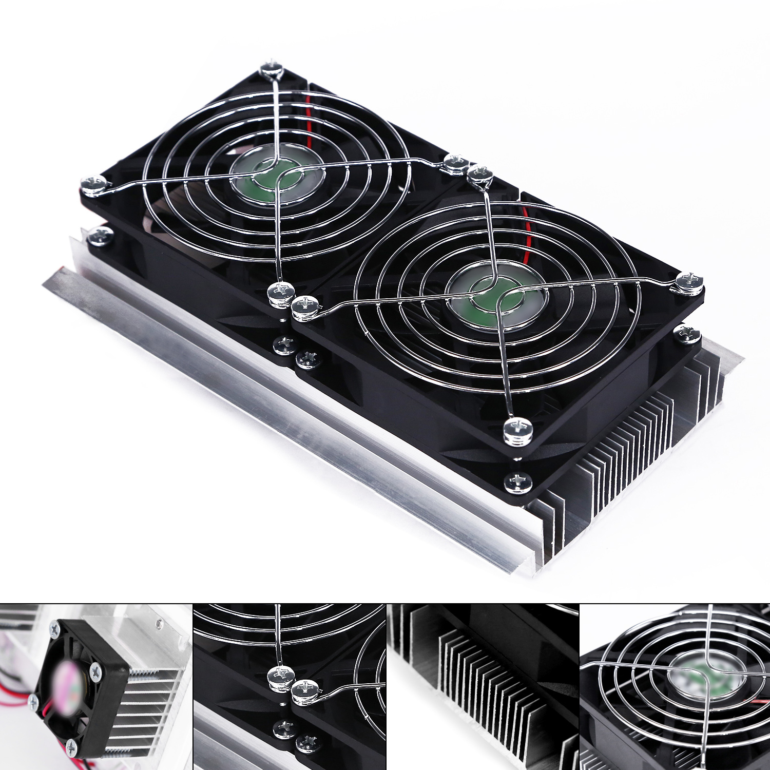 1PC Thermoelectric Peltier DIY Refrigeration Tools System 12V Semiconductor Cooler Air Cooling Dehumidification System c1204 4p1540 15 20 30 40mm 12v 4a 48w 4 layer semiconductor cooler 4 layer semiconductor subzero freezing thermoelectric cooler