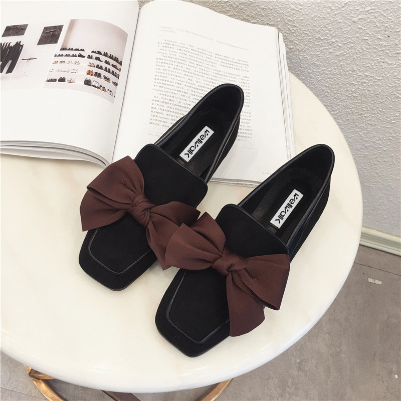 Wellwalk Ballet Flats Woman Shoes Leopard Loafers Women Ballerina Flats Shoes Ladies Black Flats Female Moccasins Shoes Spring 11