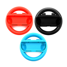 2PCS High quality Joy-con  Racing Game Steering Wheel Handle Hand Grip Holder Gamepad for NS N-Switch Left Right Joystick 2pcs left right joystick joy con handle grip hand holder steering wheel for nintendo nintend switch joy con ns nx controller