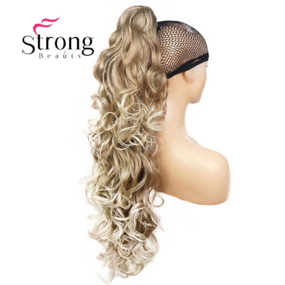 Image 2 - StrongBeauty Womens Ladies Girls Synthetic X Long W  Amazing shape Claw Clip Ponytail Pony Tail Hair Extensio COLOUR CHOICESSynthetic Ponytails   -