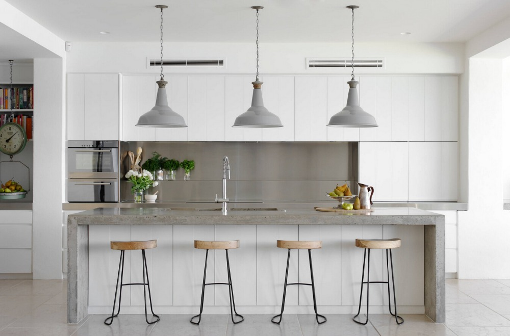 2017 kitchen furniture China suppliers new design 2PAC furniture high gloss white lacquere modular kitchen unit