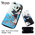 Anime Tokyo Ghoul Long Style PU Wallet Printed W/ Kaneki Ken Type With Zipper Notecase Purse Moneybag Burse