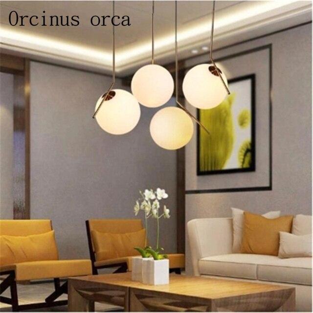 Stile moderno sala da pranzo lampadario Nordic camera da letto ...