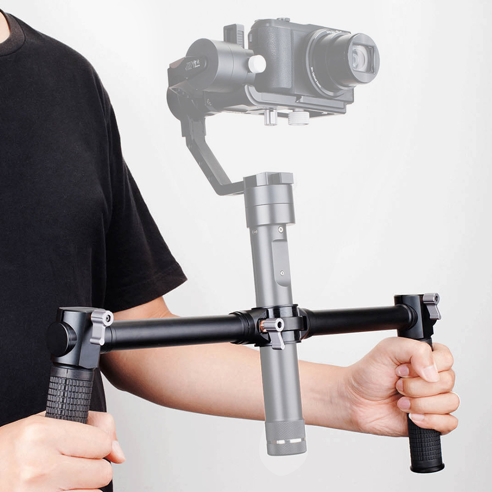 ZHIYUN Official Dual Handheld Extended Handle for Zhiyun Crane Plus Crane V2 Crane M Gimbal Stabilizer 6
