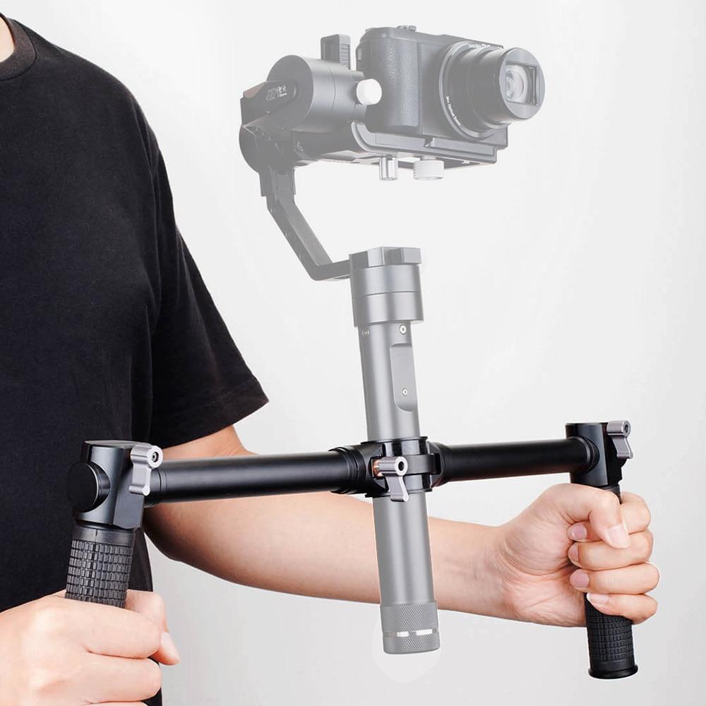 ZHIYUN Official Dual Handheld Extended Handle for Zhiyun Crane Plus Crane V2 Crane M Gimbal Stabilizer 6