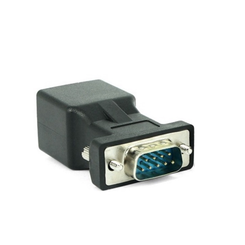 DB9 to RJ45 Connection Port RS232 to Net Interface Converter RS232 COM Plug Adapter Connector win8 10 mac android ftdi ft232rl usb rs232 db9 serial adapter converter cable