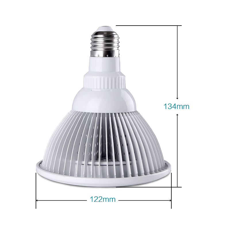 Novi dizajn E27 12W puni spektar LED svjetla za rast AC85-265V - Profesionalna rasvjeta - Foto 3