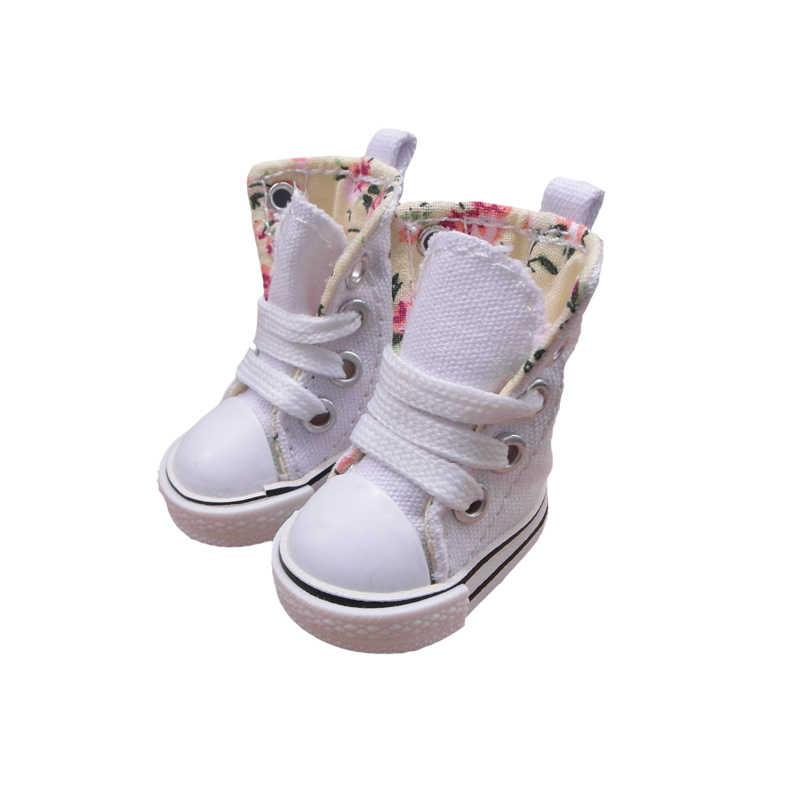 Тильда 5 см обувь для кукол BJD игрушки повседневные ботинки 1/6 спортивные кроссовки для EXO 20 см Корея KPOP плюшевые куклы аксессуары 5 пар смешанные