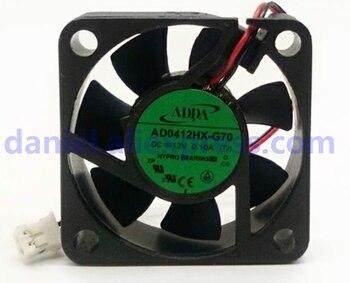 Nuevo ADDA AD0412HX-G70 12 V 4 cm puente norte y sur 4010 ventilador silencioso carcasa pequeña disipación de calor