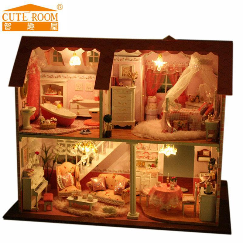 Buy Doll Furnishing Articles Resin Crafts Home Decoration: Popular Diy Dollhouse-Buy Cheap Diy Dollhouse Lots From