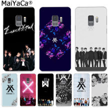 MaiYaCa Monsta X KPOP Boy Group Phone Cover Funny Letter Cases for Samsung S9 S9 plus S5 S6 S6edge S6plus S7 S7edge S8 S8plus(China)