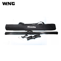 80cm Camera Track Slider Video Stabilizer System Track Dolly with Ball Bearing for DSLR Camcorders+Carry Bag