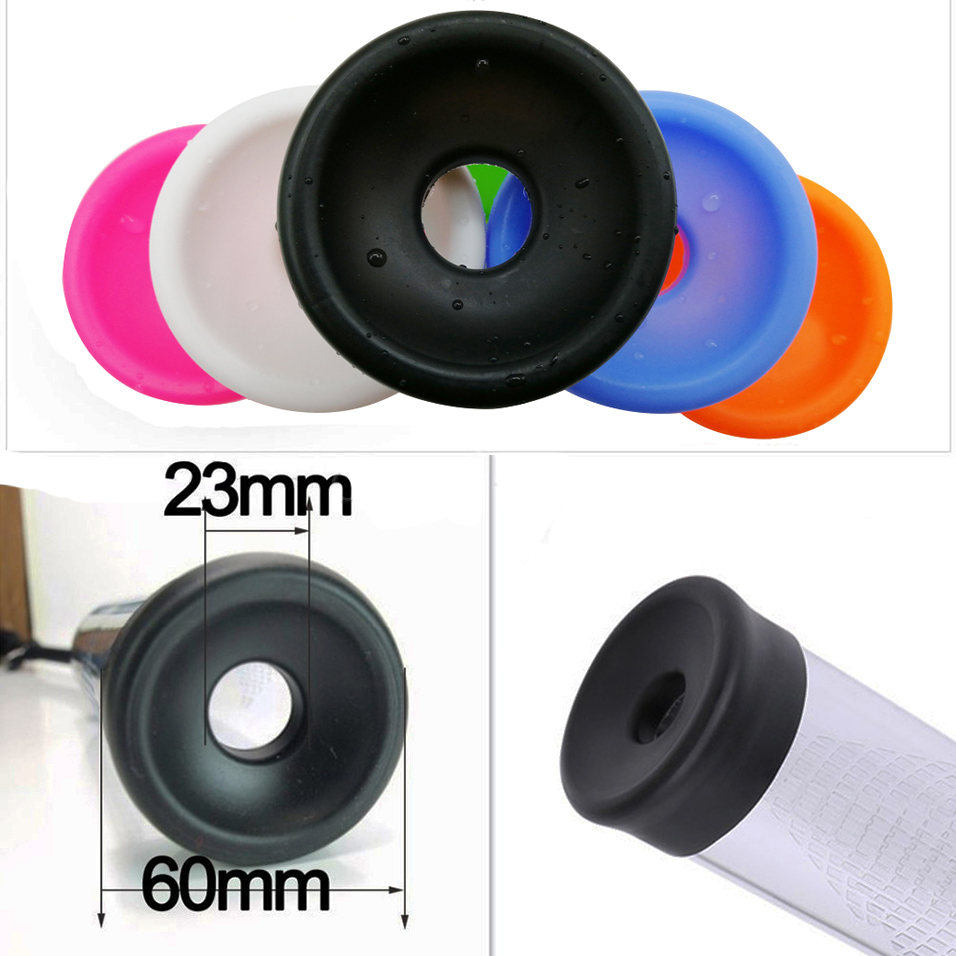 CamaTech Penis Pump Sleeve Cover Rubber Seal Donut For Most Dildo Erection Enlarger Device Penis Vacuum Pump Cylinder Accessory