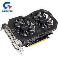 GIGABYTE Graphics Card GTX 950 with NVIDIA GeForce GTX 950 GPU 2GB 128Bit GDDR5 Video Card for PC Hdmi Dvi game VGA Used Cards