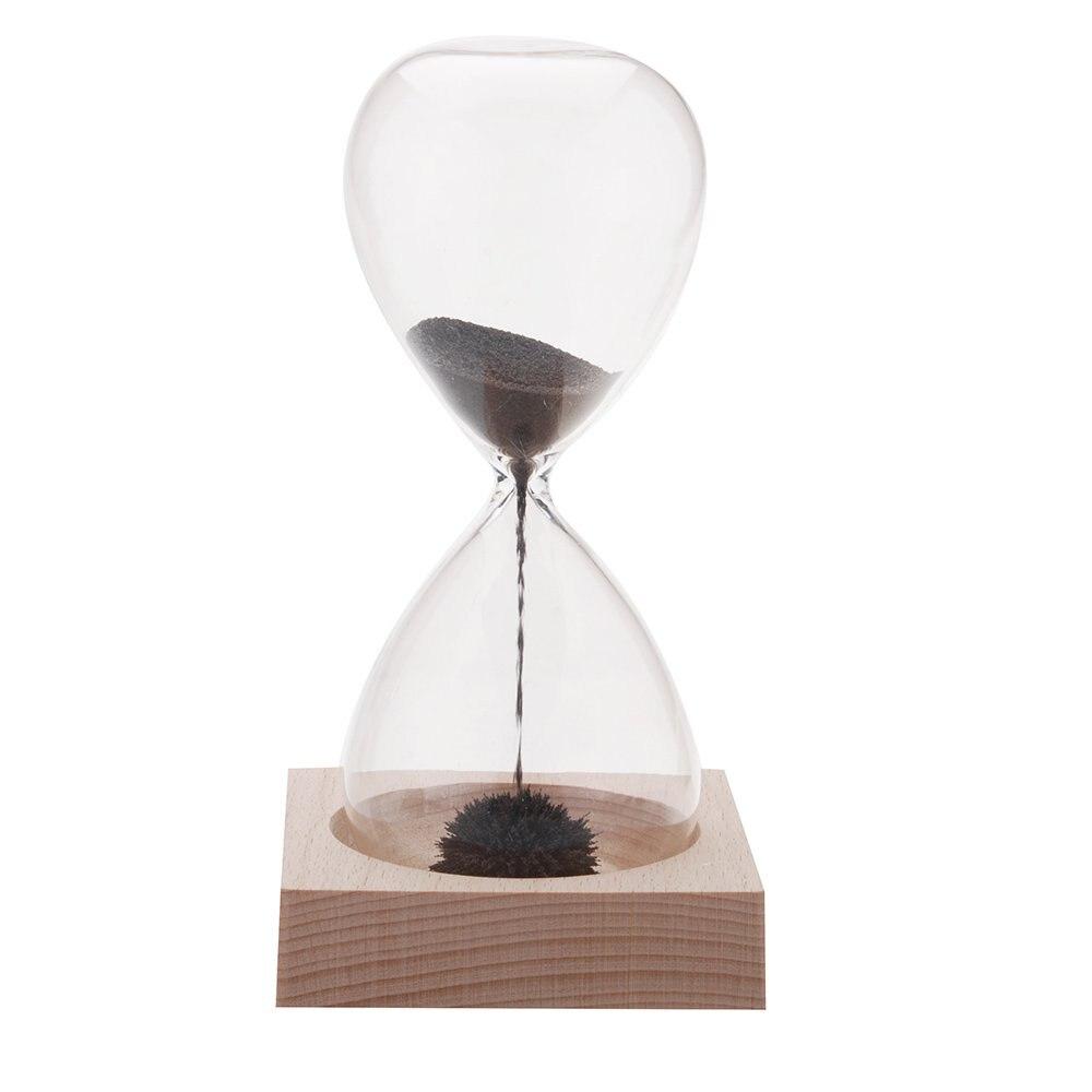 1 Pcs Pasir Awaglass Tangan Tertiup Timer Magnet Hourglass Desktop Frame Kepala Hello Kitty Pita Pink Dekorasi Jam Magnetik Hitam Hijau Ungu Biru