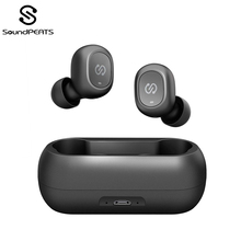 SoundPEATS Truefree TWS Bluetooth Earphone Mini Invisible 3D HiFi Stereo 5.0 Wireless Earphones Headset
