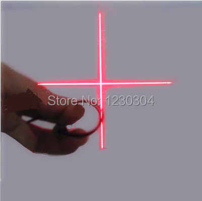 9MM Cross Laser Head Red Laser Tube Laser Diode Semiconductor Laser Tube New