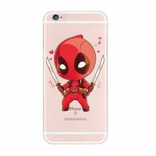 Marvel Deadpool Movie For iPhone 5C SE 4S 5 5S 6 6S 6Plus 7Plus 7 Samsung