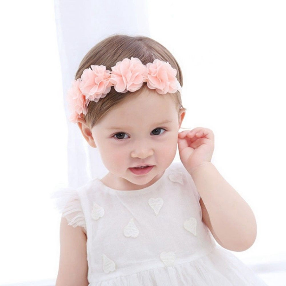 6234c9274d1 1 PC Cute Lace Flower Kids Baby Girl Toddler Headband Hair Band Headwear  Accessories Fascia per capelli per bambini  30