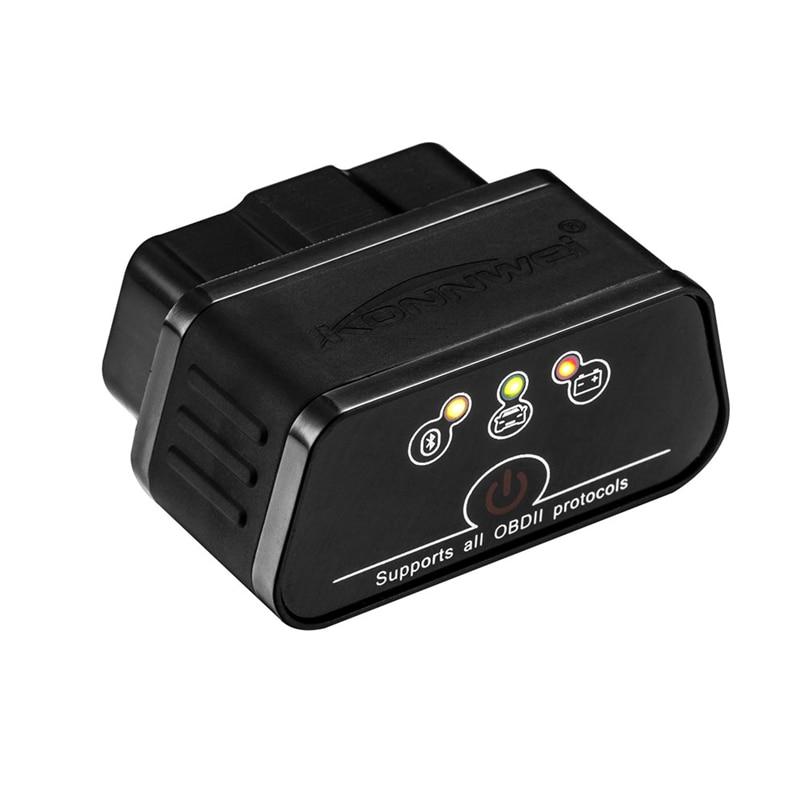 High Quality Mini Portable KW903 Automobile Fault Detector Diagnosing Scanner OBD Black Free Shippin