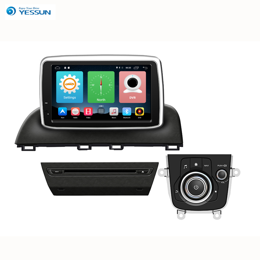 Yessun For Mazda 3 New 2014~2016 Android Car Navigation GPS Audio Video Radio HD Touch Screen Multimedia Stereo Player. yessun car navigation gps for honda civic 2016 2017 android hd touch screen audio video radio stereo multimedia player no cd dvd