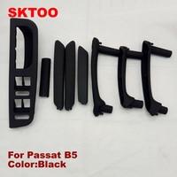 SKTOO For 1998 2005 Volkswagen Passat B5 door handle door handle armrest handle switch box black