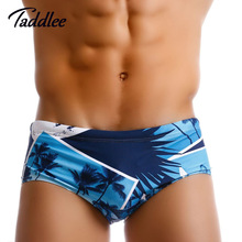 Taddlee Brand Sexy Men Swimwwear Swimsuits Swimming Boxer Trunks Shorts Designed Swimming Bikini Brief Swim Brazilian Classi Cut