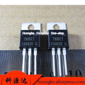 Image 1 - 10 sztuk/partia MC7805CT 7805CT MC7805CTG L7812 L7812CV L7815CV L7815 L7915CV L7915 trzech zacisków regulatora obwodu IC