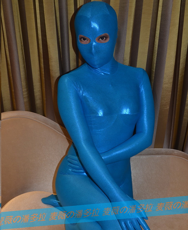 (MW101) Mywayfashion Luxury Customize Full Body Small Dot Pattern Lycra Zentai Fetish Zentai Wear