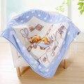 Hot cama aden anais bebê cobertor de lã cobertor criança cobertor do bebê cobertor raschel 100% engrossar ar-condicionado cobertor caricatura 360g