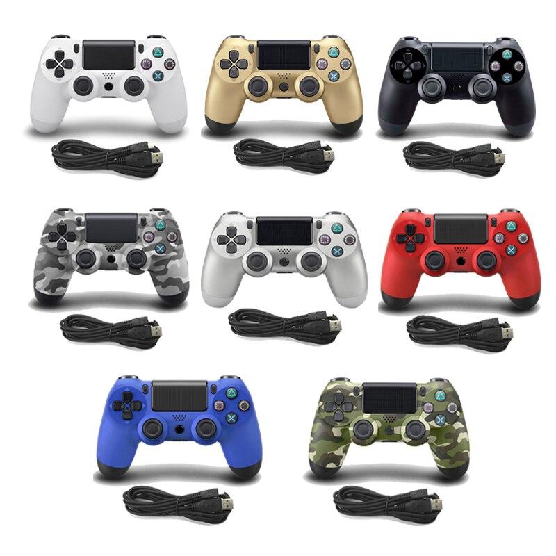Para PS4 cable USB Gamepad Controller para PS3 PC Win7/8/10 para Playstation 4 Joystick para Dualshock 4 Gamepad