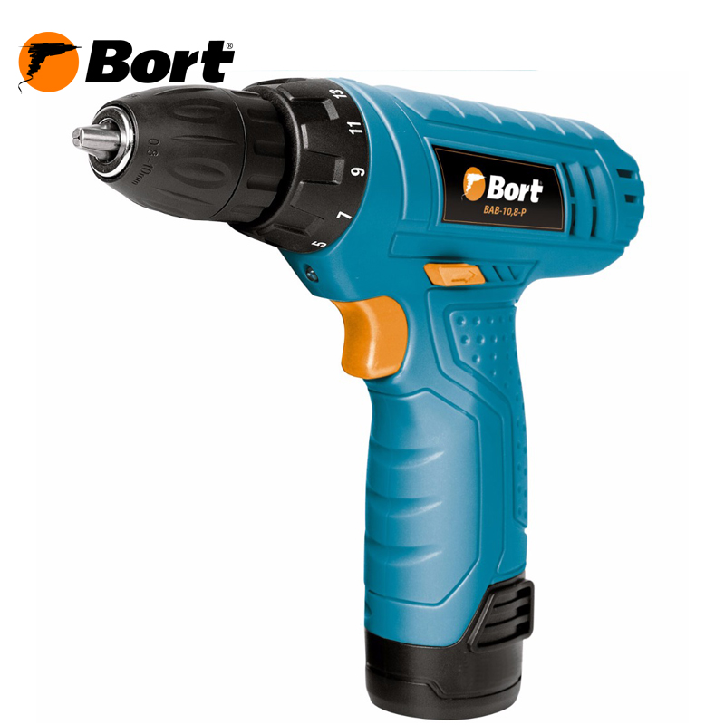 Cordless Drill/Driver Bort BAB-108-P cordless drill driver bort bab 10 8 p