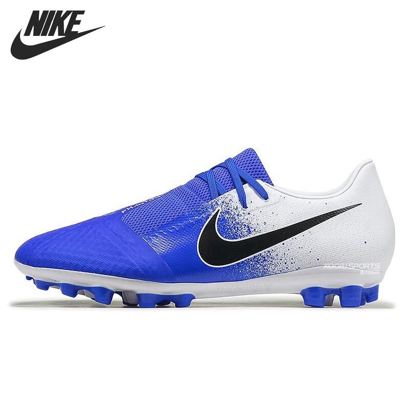 Original New Arrival NIKE PHANTOM VENOM ACADEMY AG-R Men's Football Shoes Sneakers