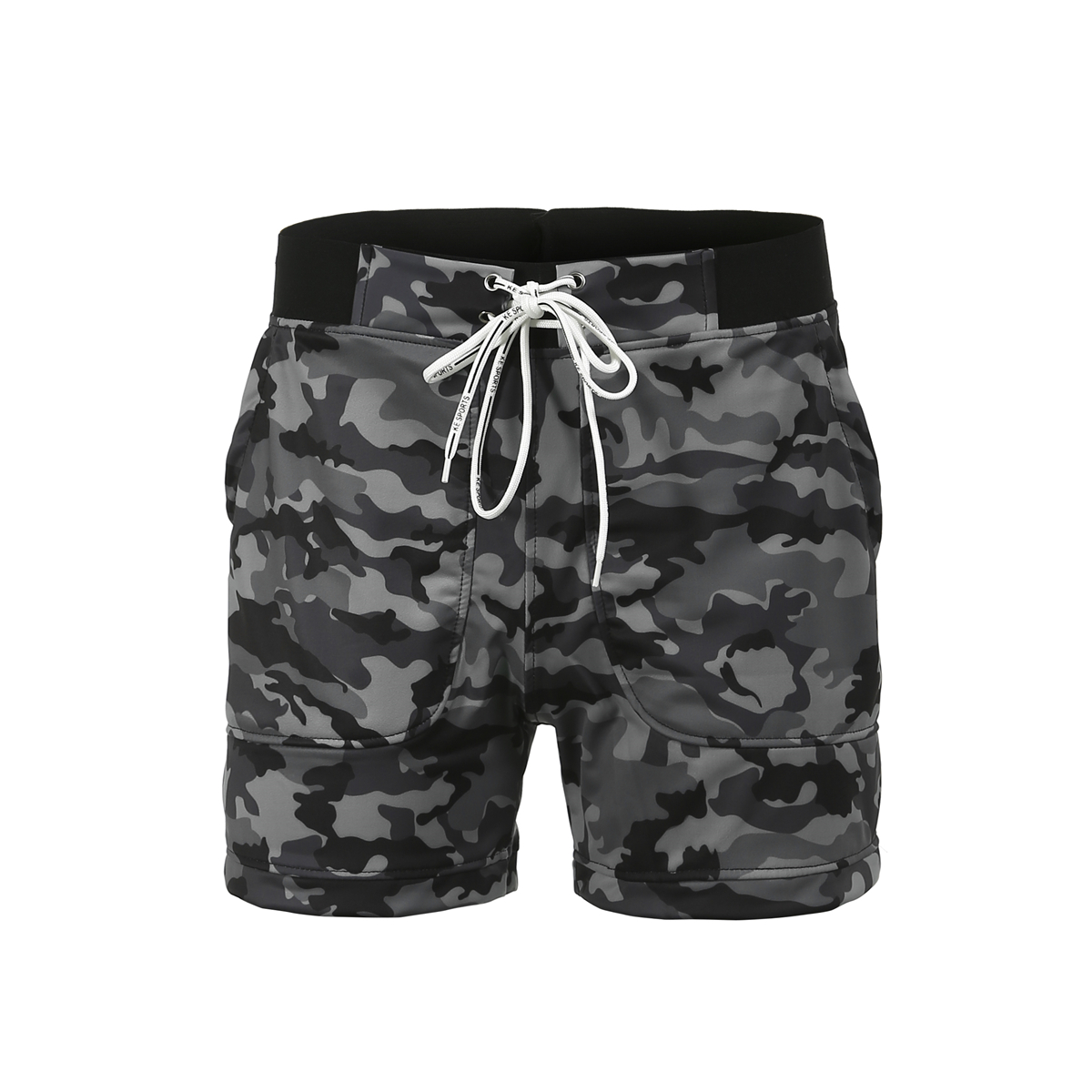 Men's Beachwear Summer Holiday Swim Trunks Quick Dry Striped Men's Quick Dry Swim Trunks Bathing Suit Striped Shorts With Pocket