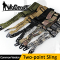 WoSporT Tático Ajustável Two Point Sling Cinta Bungee Ao Ar Livre Equipamento Militar Airsoft Caça Rifle Gun Pistol Kit Sistema