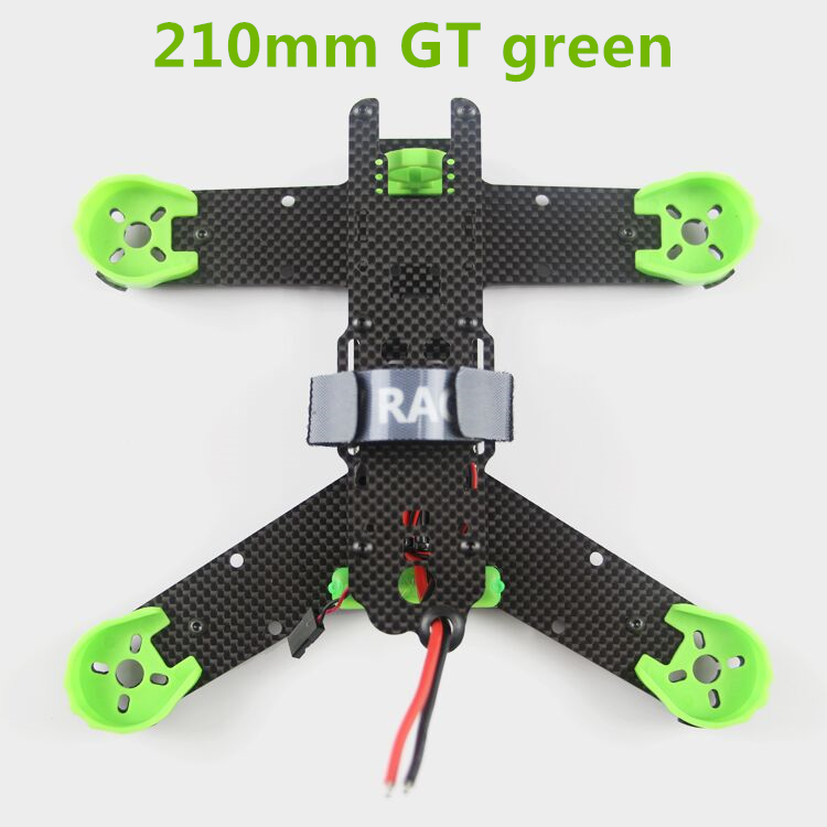KING KONG 210 / 210GT FPV cross racing mini drone quadcopter pure carbon fiber frame kit X and K models awesome f100 100mm quadcopter frame kit wheelbase mini four axis aircraft pure carbon fiber for fpv rc racing drone frame kit