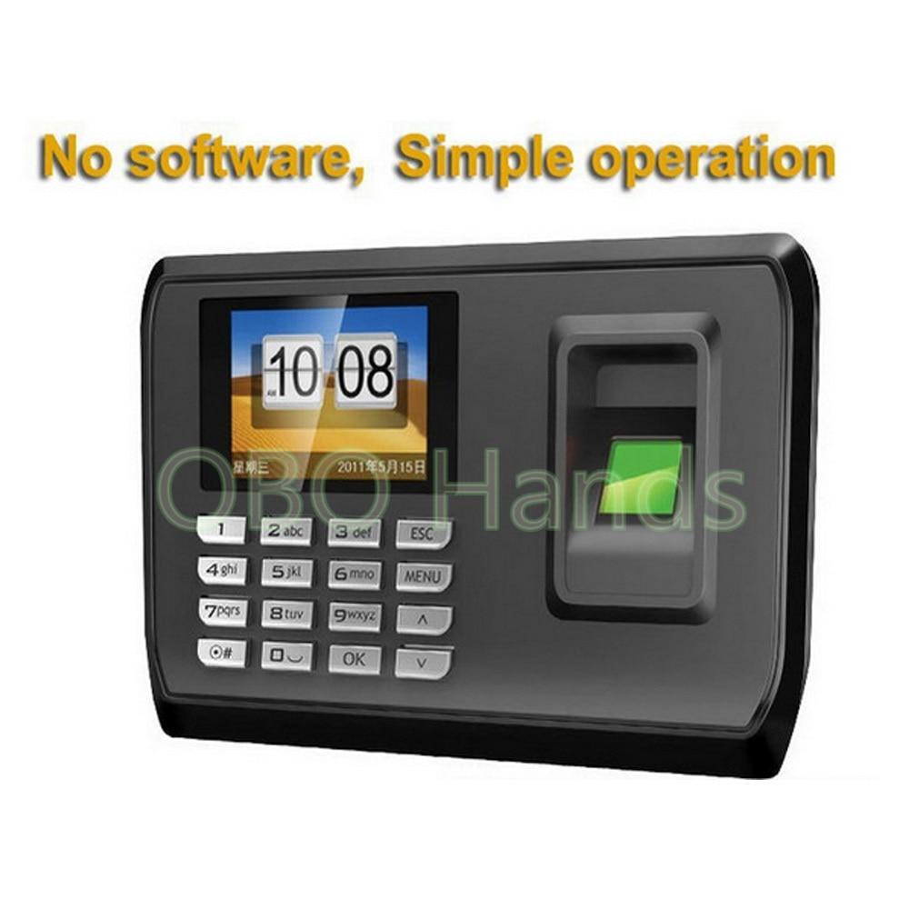 Hot Sale Biometric Fingerprint Time Clock Recorder