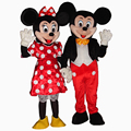Hot For Mickey and Minnie Mouse Adult Mascot Costume Party Fancy Dress Free Shipping