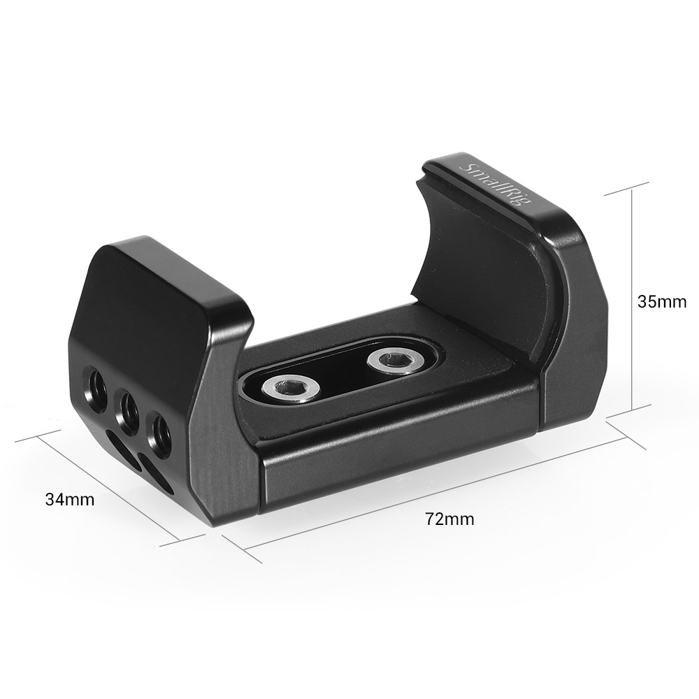 Image 5 - SmallRig Camera Bracket Power Bank Clamp Holder fr Portable Power Banks for Power bank with width ranging from 51mm to 87mm 2336-in Tripod Monopods from Consumer Electronics