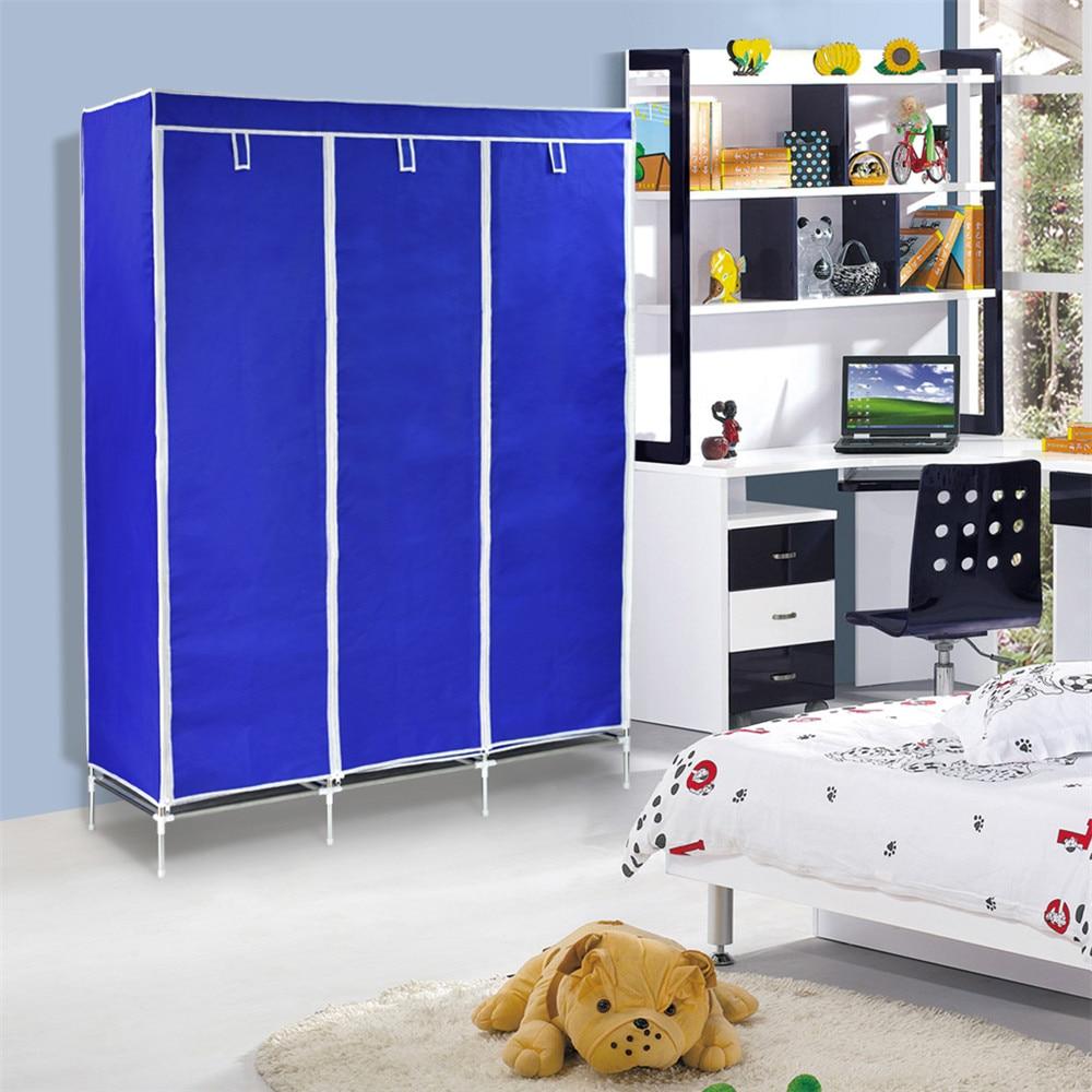 Finether doble modular enmarcado metal Telas no tejido armario ...