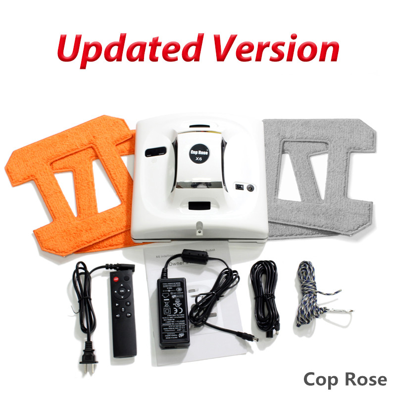 Robotic Window Cleaning Robot Cop Rose Steamer Automatic Vacuum Cleaner Washer Machine Magnetic Electric Glass Washing Tools