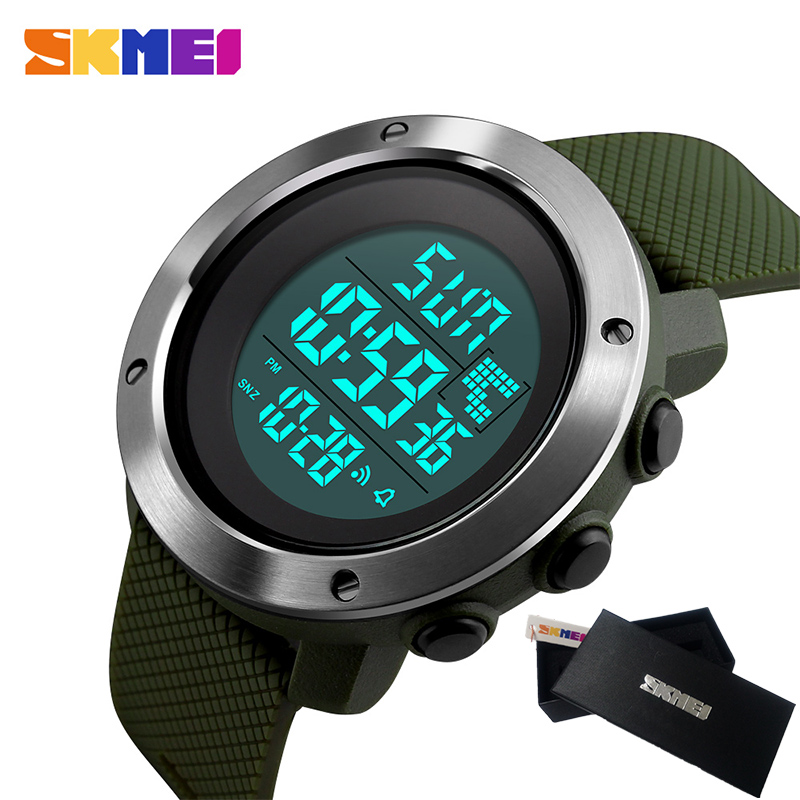 SKMEI Military Sport Watch Men Top Brand Luxury Electronic LED Digital Wrist Watch Male Clock For Man Women Relogio Masculino