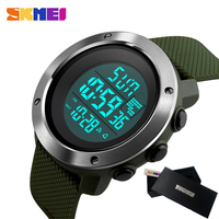 SKMEI Military Sport Watch Men Top Brand Luxury Electronic LED Digital Wrist Watch Male Clock For
