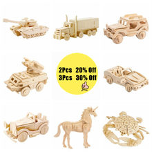 Robotime DIY Wooden Miniature Crafts Set Small Home Decoration Car Ornament Figurine Accessories Toy Gift for Boy Girl Kids(China)