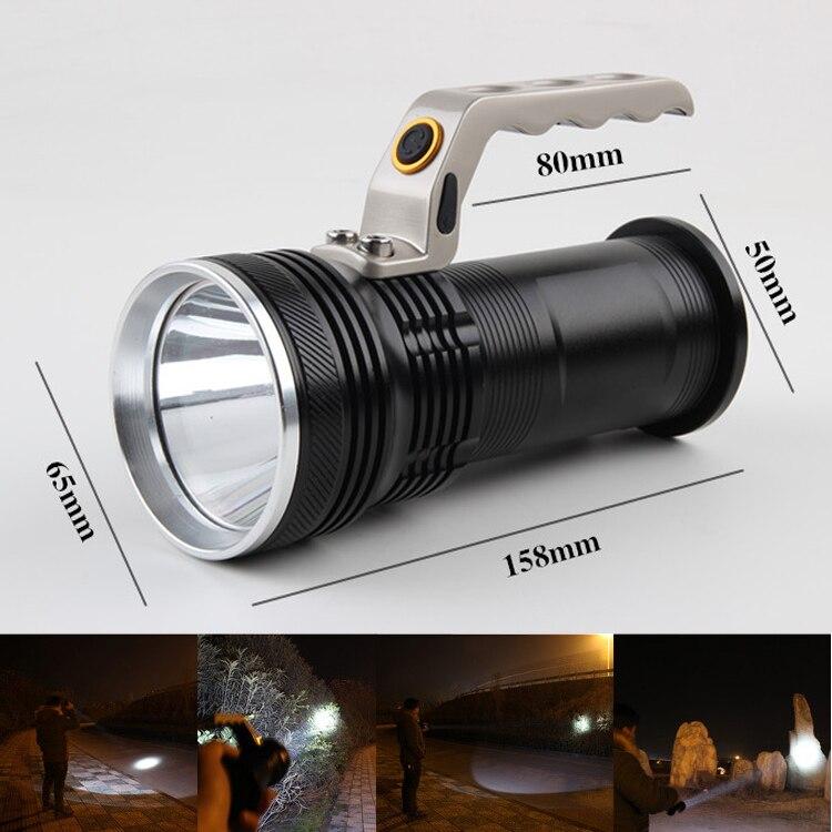 CREE Flashlight 1600 Lumen LED Rechargeable Flashlight Lantern Hand Torch XM-L Q5 Flash Light Flashlight Head Torch Lamp