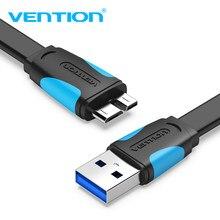 Vention micro usb 3.0 cabo 2 m 0.5 m rápido usb carregador de dados sincronização cabo usb 3.0 cabo do telefone móvel para samsung s5 disco rígido