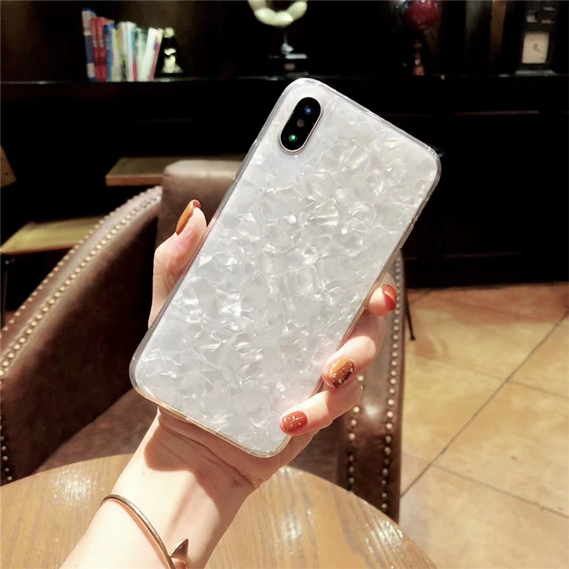 Eleteil Marble Case For Iphone X Xr Xs Max Fashion Luster Shockproof For Iphone 7 Case 6s 7 8 Plus Protective Phone Cover E40 A Complete Range Of Specifications Cellphones & Telecommunications