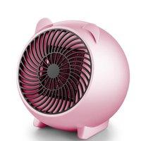 미니 전기 테이블 팬 히터 빠른 ptc 공기 따뜻하게 휴대용 작은 ptc 세라믹 팬 히터 전기 220 v 250 w 따뜻한 공기 송풍기